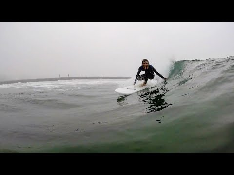 SCORING PERFECT WAVES!!! SURFING PERFECT GLASS