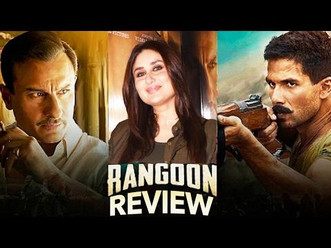 Kareena Kapoor Khan's REVIEW On Shahid Kapoor And Saif Ali Khan's Rangoon