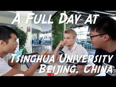 A FULL DAY AT TSINGHUA UNIVERSITY IN CHINA | Life in Tsinghua