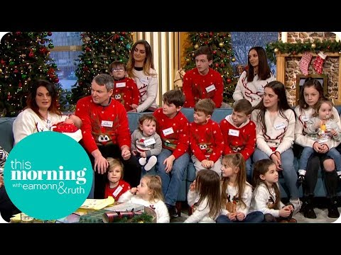 The Radfords Are Back with Their 21st Child! | This Morning