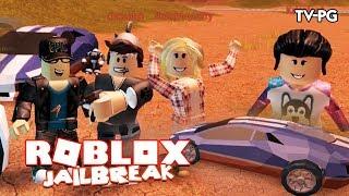 MY FIRST LAMBO! IT'S AWESOME!| Roblox JailBreak Team CrashPlanet