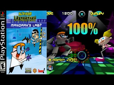 Dexter's Laboratory: Mandark's Lab? [05] 100% PS1 Longplay