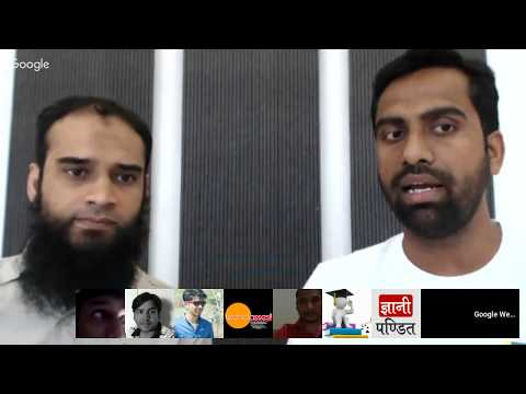 गूगल द्वारा हिंदी वेबमास्टर्स के लिये Hangouts ऑन एयर