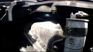 Opel Corsa D 1,3 CDTI Dieselfilter tauschen / wechseln