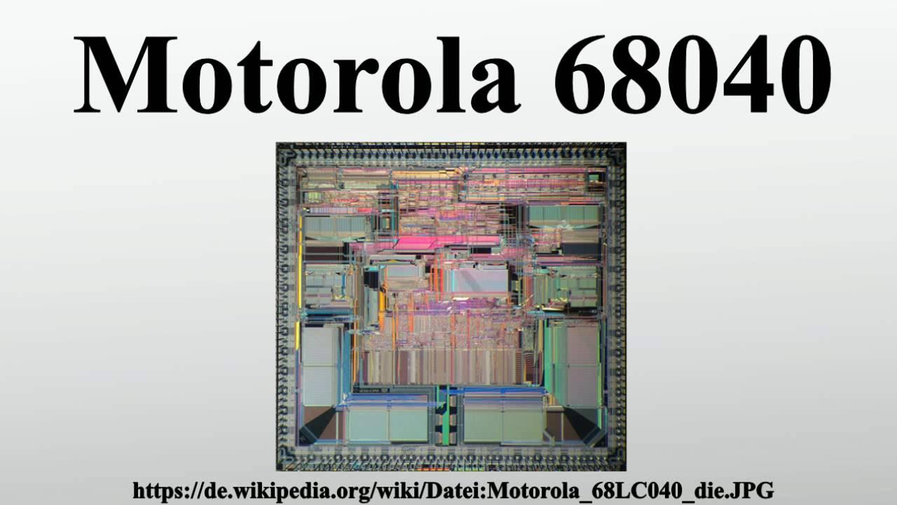 motorola 68030 computers motorola 68040 youtube