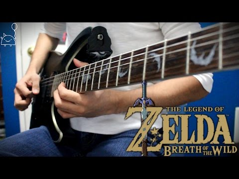 Trailer Theme (2017) - The Legend of Zelda: Breath of the Wild (Rock Cover) || Shady Cicada