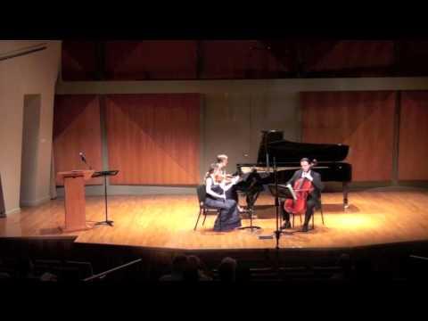 Adam Schoenberg: Luna Y Mar for piano trio - Salastina Music Society