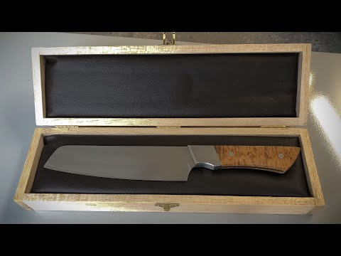 Making wooden knife box