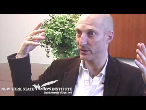 Jonathan Ames at the NYS Writers Institute in 2006