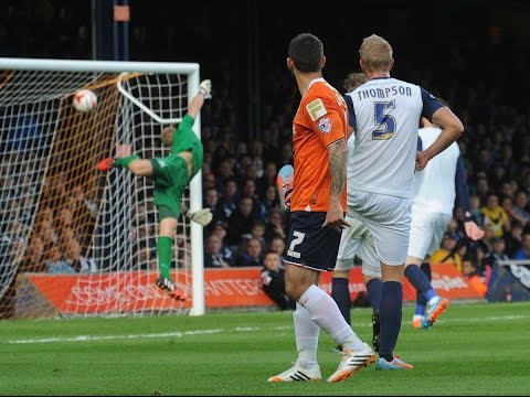 Luton Town's Football League Awards Goal of the Year shortlist