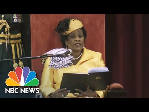 Barbados Governor-General: 'Barbadians Want A Barbadian Head Of State' | NBC News NOW
