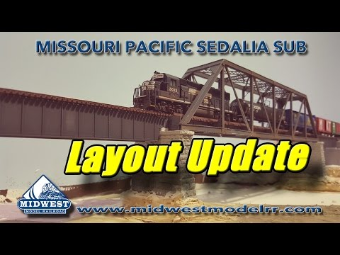 Building an N Scale Layout – May Update