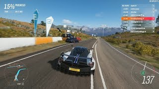 Forza Horizon 4 - Pagani Huayra BC has insane accel in the Wet for S2-Class [Ranked Adventure]