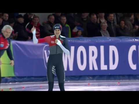 Martina Sablikova 1500 - 1.55,44 (TR). World Cup 5 Stavanger 2015/2016