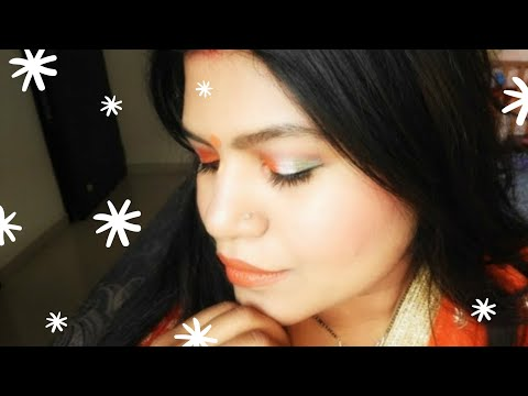 Republic Day Makeup Tutorial | INDIA | Meenal J Kothari