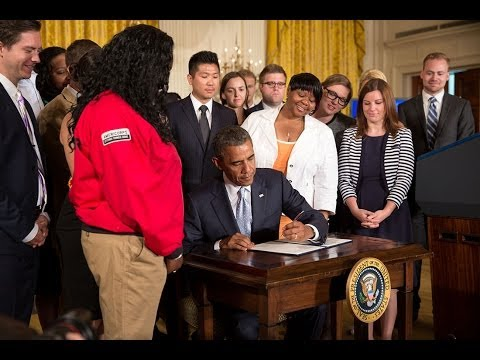 President Obama Speaks on Student Loan Debt
