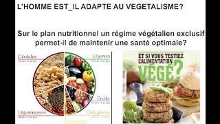 L'homme est-il adapté au régime végétalien ? 3