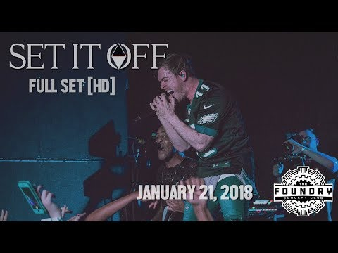 Set It Off - Full Set HD - Live at The Foundry Concert Club