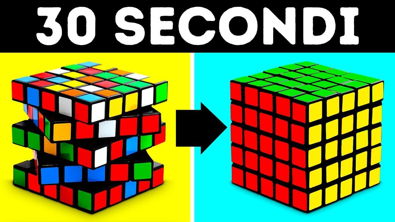 Risolvi Qualsiasi Cubo di Rubik in Meno di un Minuto, Ecco Come