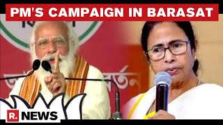 PM Modi Slams Mamata On Violence In Poll-Bound WB, Alleges TMC Against High Voter Turnout