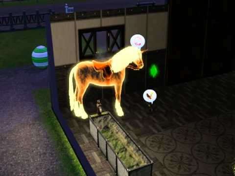 Sims 3 Pets Ghost Unicorn Youtube