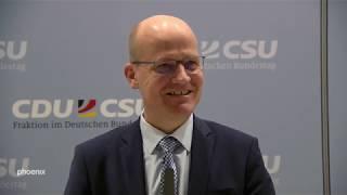 Ralph Brinkhaus (CDU) und Ulrich Lange (CSU) zum Bundeshaushalt 2020