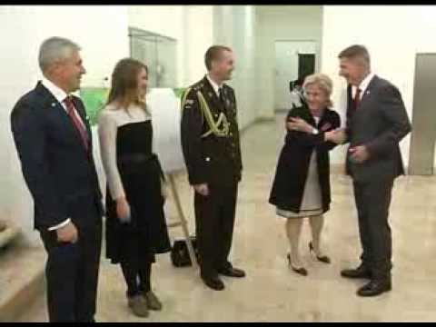 the 20th anniversary of independence of the Republic of Latvia In MFA of Georgia