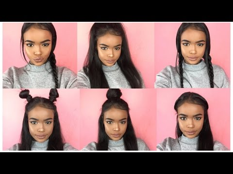6 STYLES FOR STRAIGHT NATURAL HAIR | HALSSAA