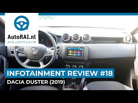 Dacia Duster (2019) - Infotainment Review #18 - AutoRAI TV