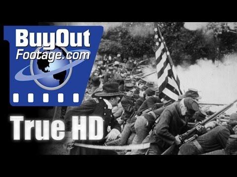 THE BATTLE - D.W. Griffith 1911 Civil War Battle Film HD