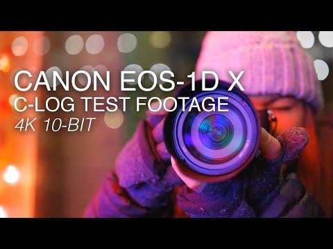 Canon EOS-1D X Mark III   4K Test Footage