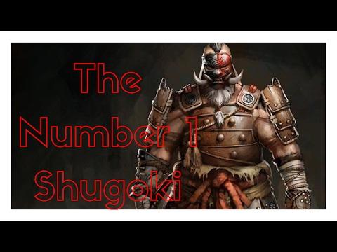 For Honor - Facing The Number 1 Ranked Shugoki on Xbox! 2 Of The Best Shugokis Going At It
