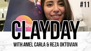 CLAYDAY #vlog - CREATORS NIGHT ft. Amel Carla & Reza 'Arap'
