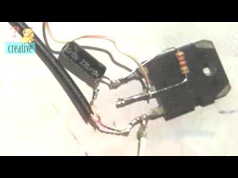 Simple Basic audio Amplifier Circuit using Transistor