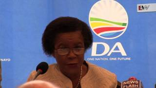 Mamphela Ramphele was officially announced as the DA's presidential candidate at a press conference in Cape Town on 28 January 2014.