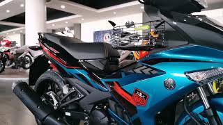 Download Yamaha Y15ZR V2 Cyan New Color Scheme 2020 Walkaround