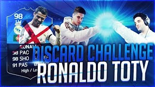 INCREIBLE RONALDO TOTY DISCARD CHALLENGE | CACHO01