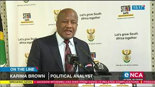 Karima Brown Speaks On The Passing Of Jackson Mthembu