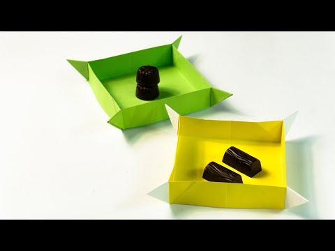 How To Make a Paper Box | Craft Ideas | Origami Box