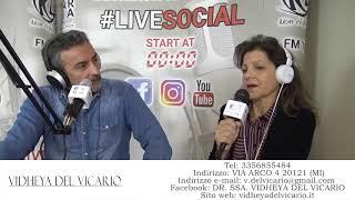 Dr.ssa Vidheya Del Vicario - Intervista LifeSocial Radio Lombardia nov2019