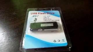 Цифровой мини диктофон 8 ГБ USB DISK RECORDER(, 2016-08-11T09:39:47.000Z)