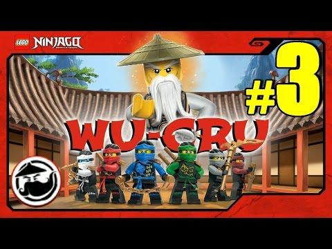 LEGO Ninjago WU-CRU Прохождение Игры Лего Ниндзяго на русском языке - 3 серия - БЕДНЫЙ КОУЛ