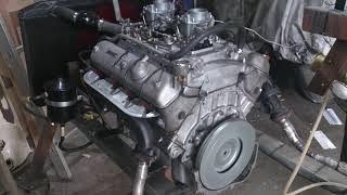BMW 3200cs V8 Engine running