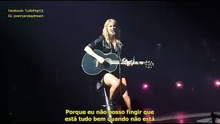 Download Lagu Taylor Swift - Death By A Thousand Cuts TRADUCAO LIVE MP3