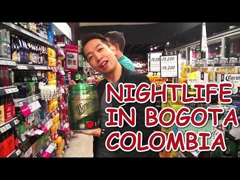 NIGHTLIFE IN BOGOTA, COLOMBIA