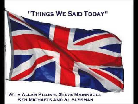 Things We Said Today #224 - Laurence Juber, Ringo tour, RIP Pete Shotton