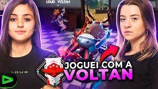 Joguei Free Fire Com A Nova Jogadora Da Loud!!!