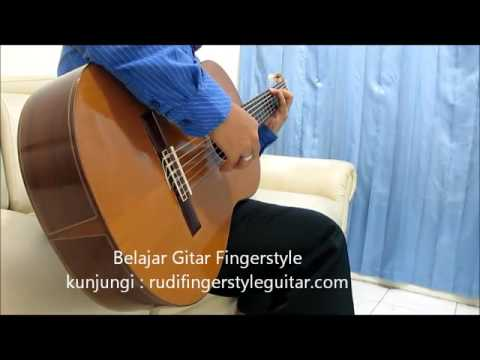 Belajar Gitar Fingerstyle Yovie and Nuno Janji Suci