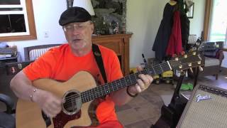 1256 -  I Can't Stop Loving You -  Ray Charles cover with guitar chords and lyrics
