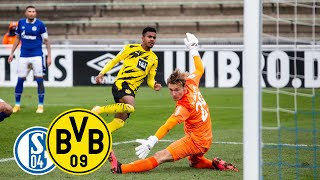 U23 with Derbysieg! | All goals & highlights: Schalke U23 vs. Borussia Dortmund U23 1:5